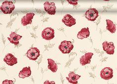 Freshford Floral Red Wallpaper