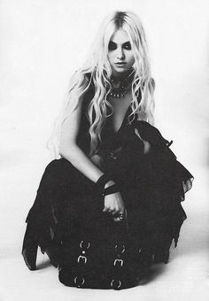 Taylor Momsen. She's everything I wish I could be.