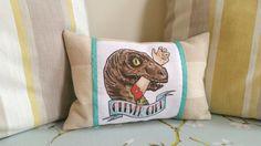 ❤️Clever fille Vélociraptor coussin. Jurassic par TheStrippedBear