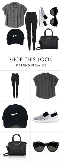 """""""Travel fit"""" by madsofo on Polyvore featuring Dolce&Gabbana, Monki, Nike Golf, Y-3, Givenchy and Yves Saint Laurent"""