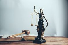 Statue of justice and wooden gavel | Premium Photo #Freepik #photo #law #balance #female #antique Lady Justice, Law And Justice, Purchase Contract, Law Enforcement Officer, Grey Table, Stack Of Books, Cute Boys, Business Women, Skincare
