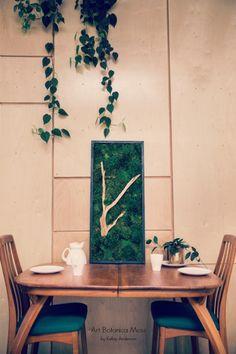Fine Moss Art by Art Botanica. Moss Wall Art, Moss Art, Forever Green, Flora, Vibrant, Sculpture, Texture, Create, Handmade