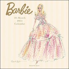 Robert Best 2014 Barbie calendar - We would use it for wall art in the girl's room