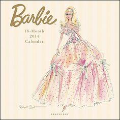 Robert Best 2014 Barbie calendar
