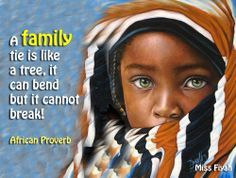 african proverb family and tree - Google Search