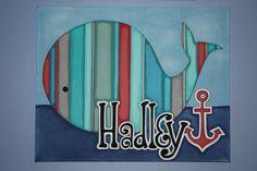 16 x 20 personnalisé de lenfant nom peinture sur par LittleBitties