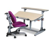 Modern Children Desk Chair Sets And Purple Rolling Kids Chair On Carpet Kids White Desk And Chair Kids Bed Furniture
