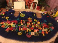 Layout - merino wool vest by Lussy Valkova