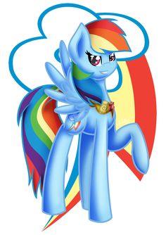 Rainbow Dash by midfire.deviantart.com on @DeviantArt