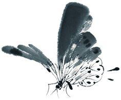 곤충류 Sumi E Painting, Korean Painting, Japanese Painting, Chinese Painting, Japanese Drawings, Japanese Art, Chinoiserie, Butterfly Sketch, Inspiration Artistique