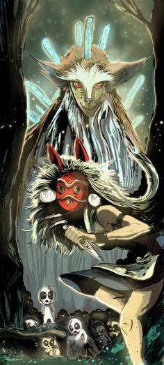 Princess Mononoke by Gabe Rose