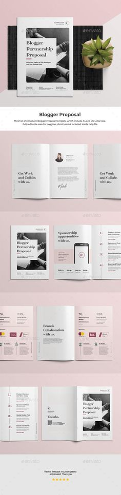 Proposal Print Templates/Stationery Pinterest Proposals