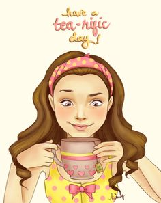 Have a tea-rific Thursday, everyone! And I tell you that while I sip coffee. Ha! by Arthlete