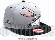 Bugs Bunny Cabesa Punch 2 Placid Grey Jet Black White Looney Tunes New Era Snapback