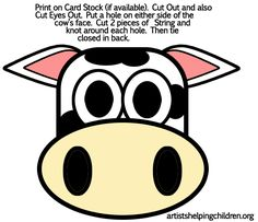 See 8 Best Images of Free Printable Cow Mask. Printable Cow Mask Template Printable Cow Mask Template Cow Mask Template for Kids Free Printable Cow Mask Template Printable Cow Mask Printable Cow Mask, Free Printable, Arts And Crafts Projects, Crafts For Kids, Cow Appreciation Day, Cow Craft, Face Template, Cow Face, Snowman Faces