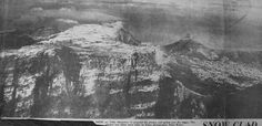 Table Mountain 1971 courtesy of Des Head Table Mountain, Old Pictures, Cape Town, South Africa, Snow, History, Antique Photos, Historia, Old Photos