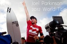 joel parkinson 2012 surfing world title