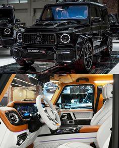 Mercedes Brabus, Mercedes G Wagon, Mercedes Benz G Class, Top Luxury Cars, Luxury Suv, Benz Suv, Black Audi, Mercedez Benz, Lux Cars