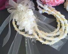 Image result for lazo de boda con flores naturales