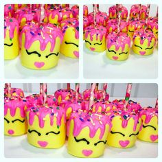 Terrific Totally Free Shopkins theme marshmallows Thoughts Baby is usually 1 at this moment and also you need to party ! 🙂 To get mommies, the earliest yr Birthday Party Treats, Diy Birthday, Birthday Parties, Birthday Ideas, Shopkins Bday, Free Shopkins, Emoji Birthday Shirt, Anniversary Cards For Wife, Chocolate Covered Treats