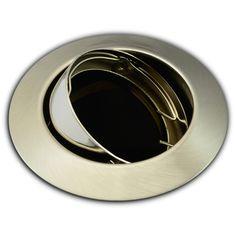 Einbaustrahler rund Eisen gebürstet 104S-TP