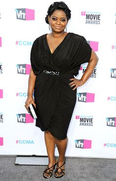Octavia Spencer at the Critics' Choice Movie Awards 2012