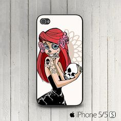 Little Mermaid Sugar Skull iPhone 6 5s, 4s  5c case by signaturecase, $9.99