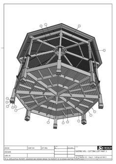 Pergola For Small Patio Gazebo Roof, Diy Gazebo, Wooden Gazebo, Gazebo Plans, Backyard Gazebo, Pergola Swing, Pergola With Roof, Gazebo Ideas, Gazebo Curtains