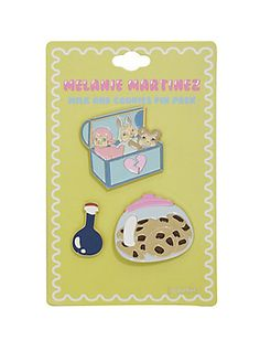Hot Topic : Melanie Martinez Milk And Cookies Cry Baby Enamel Pin Set Melanie Martinez Shirt, Melanie Martinez Mad Hatter, Cry Baby Storybook, Best Lullabies, Band Merch, Pin And Patches, Soft Grunge, Pin Collection, Alphabet