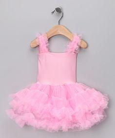 Light Pink Tutu Dress - Toddler & Girls