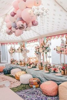 Fresh Ideas And Wedding Trends 2020 ❤ wedding trends 2020 playful pastel reception under the tent decorated with balloons socaleventplanners Anemone Wedding, Lilac Wedding, Chic Wedding, Dream Wedding, Wedding Bride, Pastel Wedding Theme, Pastel Weddings, Lace Bride, Spring Weddings