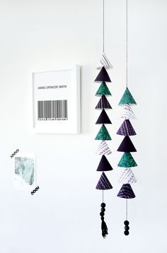 DIY Paper Mobile with Free Printable Template - Project Nursery