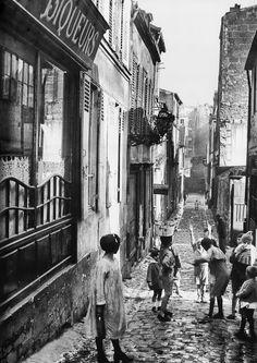 Paris quartier de Bellevile vers 1930