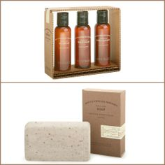 Out of the Box: Our stock of Archipelago Botanicals Men's Line Boticario e Havana has grown due to popularity! New this week is the Travel Set perfect for the travelling business man (Shampoo, body was, and body lotion) and Soap – Blended with natural coffee beans, orange blossom and bergamot. 877-647-2328