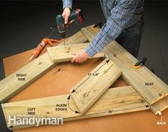 Build A Wooden Bench For Less