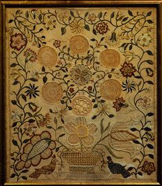 Mary Jones: Embroidered sampler, 1795  - The Metropolitan Museum of Art