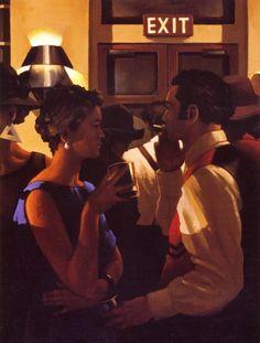 Jack Vettriano - The City Cafe
