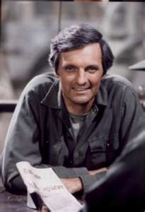 Alphonso Joseph D'Abruzzo better known as Alan Alda --  From one Italian to another, I'd love to have a couple laughs with him.