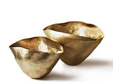 Bash Vessels Small, Brass, Tom Dixon, Eclectic