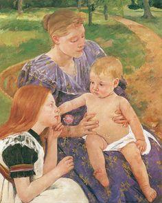 Mary Cassatt - The Family
