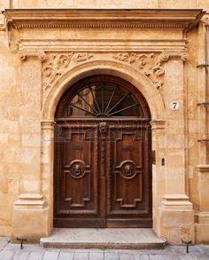 Ancienne Porte En Bois Aix En Provence France Banque Du0027images