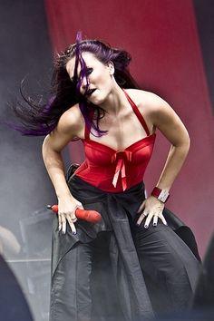 Tarja Turunen Heavy Metal, Metal Sinfônico, Metal Bands, Women Of Rock, Symphonic Metal, Goth Women, Music Love, Music Artists, Metallica