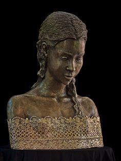 The Obsession of Art - Malgorzata Chodakowska Tree Trunks, Unusual Art, Old London, Ancient Artifacts, Fantasy Artwork, Bronze Sculpture, Metal Art, Art Girl, Art Photography