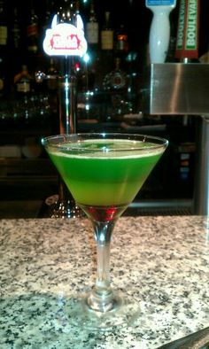 Stop Light Martini. Crabby's Seafood Bar & Grill. Joplin, Mo
