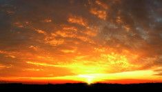 Západ slunce hd obrázek