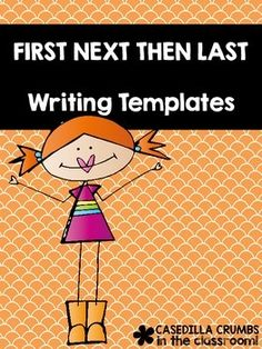 FREE Use these First Next Then Last cards with any story you read and would like students to write to retell. Enjoy this FREEBIE and please take a moment to leave feedback.Become a fan on Facebook:Casedilla Crumbs on FacebookPinterest:CasedillaCrumbs on PinterestTwitter: @CasedillaCrumbsMy Blog:CasedillaCrumbsKeywords:writing first grade kindergarten second write retell stories reading read books book outline cut and paste