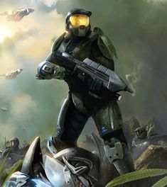 """Halo"", cel mai popular joc video în Guiness World Records Gamer's Edition Master Chief And Cortana, Halo Master Chief, Video Game Art, Video Games, Odst Halo, Alternate Reality Game, Halo Game, Halo 3, Halo Series"