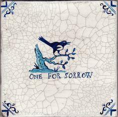 'oneforsorrow' paul bommer - faux delft tile
