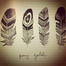 feathers drawing - Sök på Google