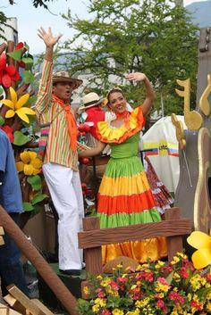 Feria de Las Flores. Medellin Colombia